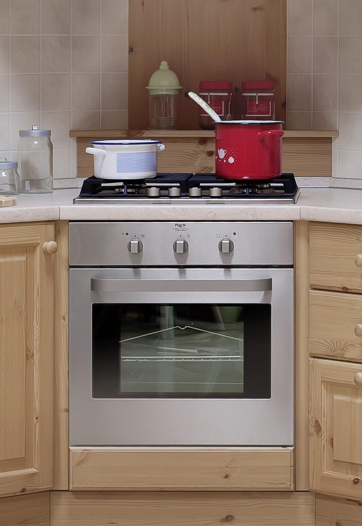 Base cucina anta verona base forno angolo 104x104 - Base angolo cucina ...