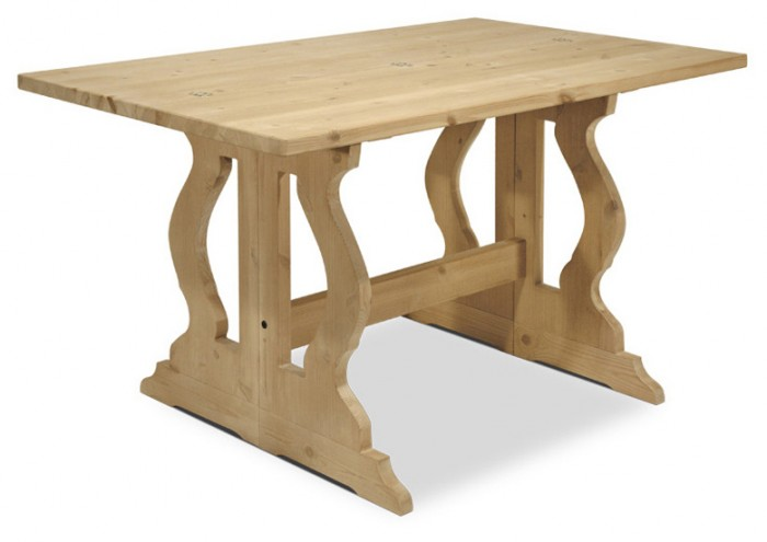 Tavoli in pino tavoloconsole l130 allungabile for Console tavolo