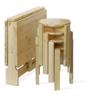 Tavoli in pino, SET spazio, Arredamenti Rustici