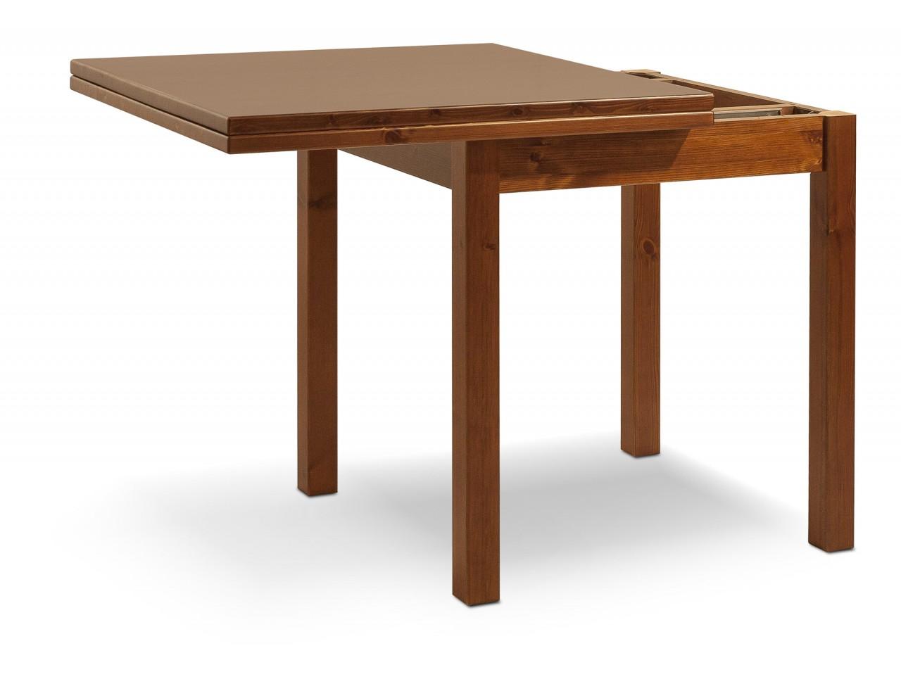 tavoli in pino tavolo a libro 80x80 arredamenti rustici
