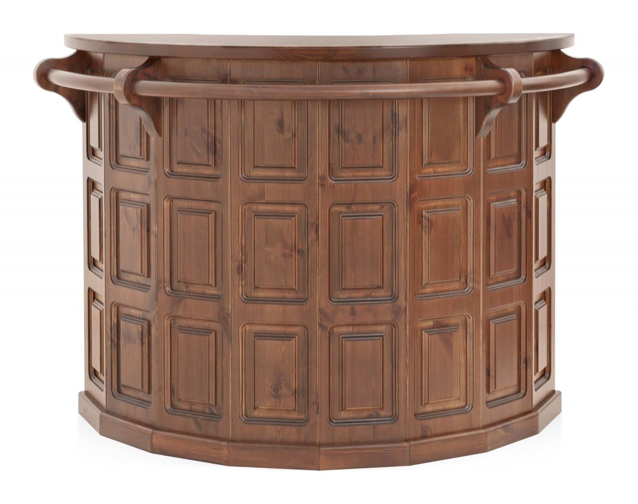 Complementi rustici bancone bar arredamenti rustici - Bancone cucina legno ...