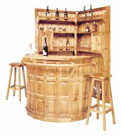 Complementi rustici completo bar angolo arredamenti rustici for Arredamento angolo bar