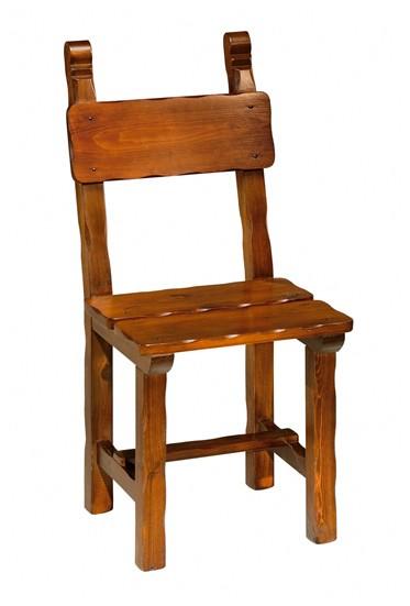 Sedie Di Legno Rustiche.Sedie Rustiche Sedia Rustica Smussata Arredamenti Rustici