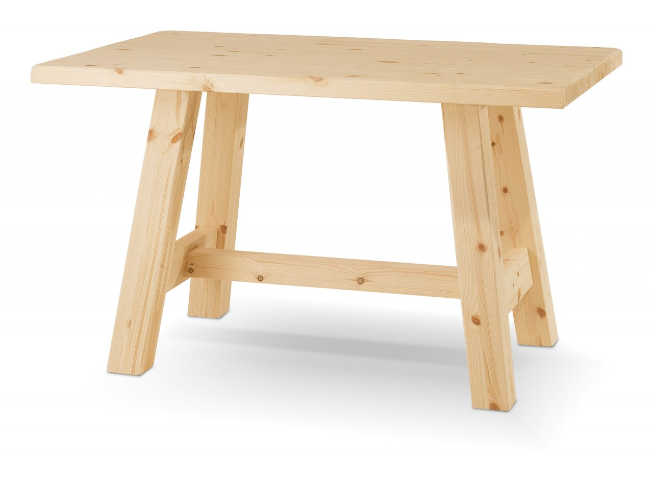 Tavoli in pino tavolo capretta arredamenti rustici - Tavoli allungabili rustici ...