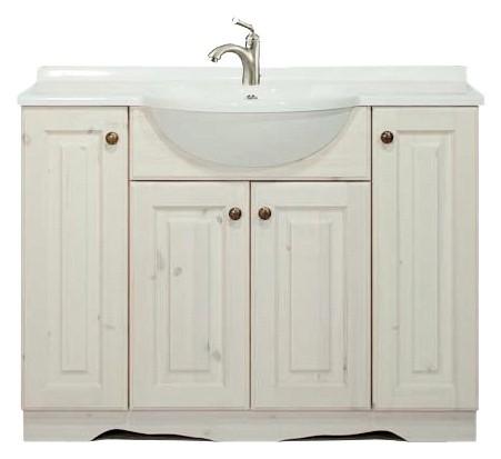 Arredo bagno in pino mobile bagno rustico arredamenti - Accessori bagno rustici ...