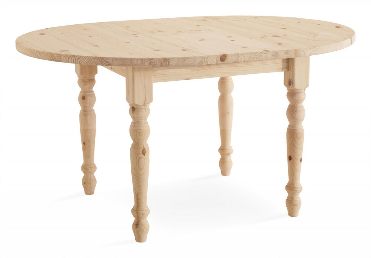 Tavoli in pino tavolo allungabile 110 tondo arredamenti for Tavolo tondo allungabile