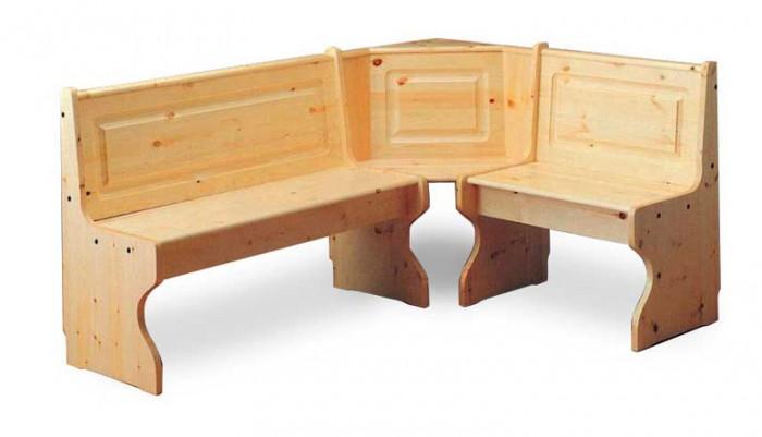 Giropanca in pino giropanca tirolese 115x115 arredamenti for Arredamenti rustici in pino