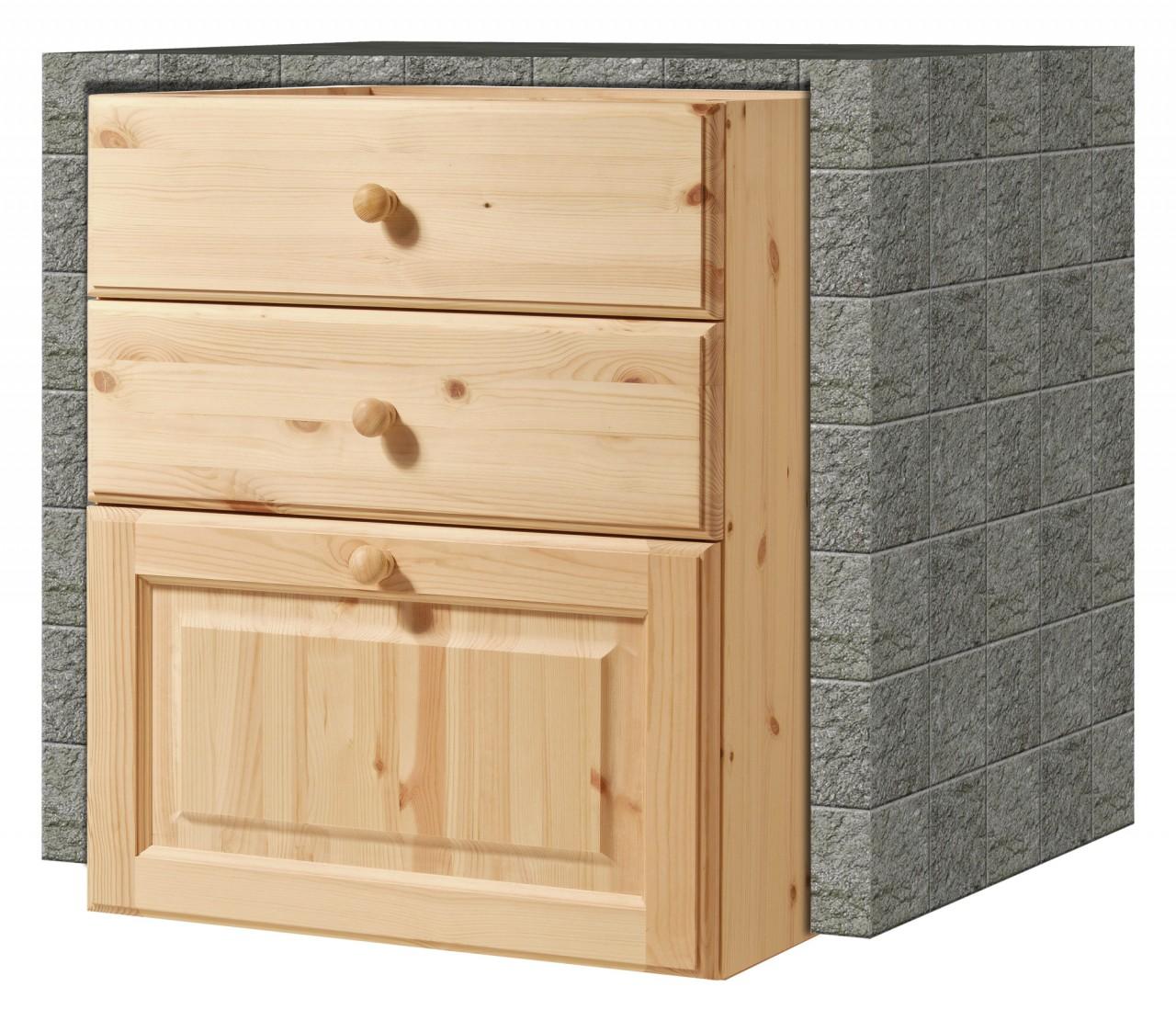 Cucina in muratura cassettiera da 60 2c 1c arredamenti - Cassettiera da cucina ...