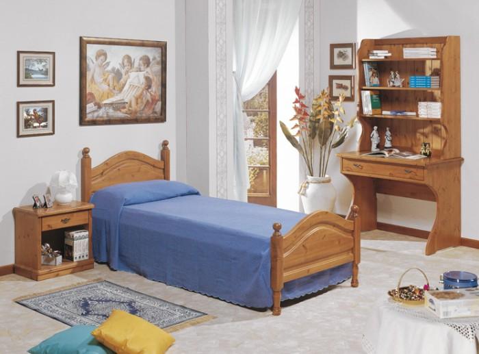 Camere da letto in pino massiccio design casa creativa e mobili ispiratori - Stanze da letto rustiche ...