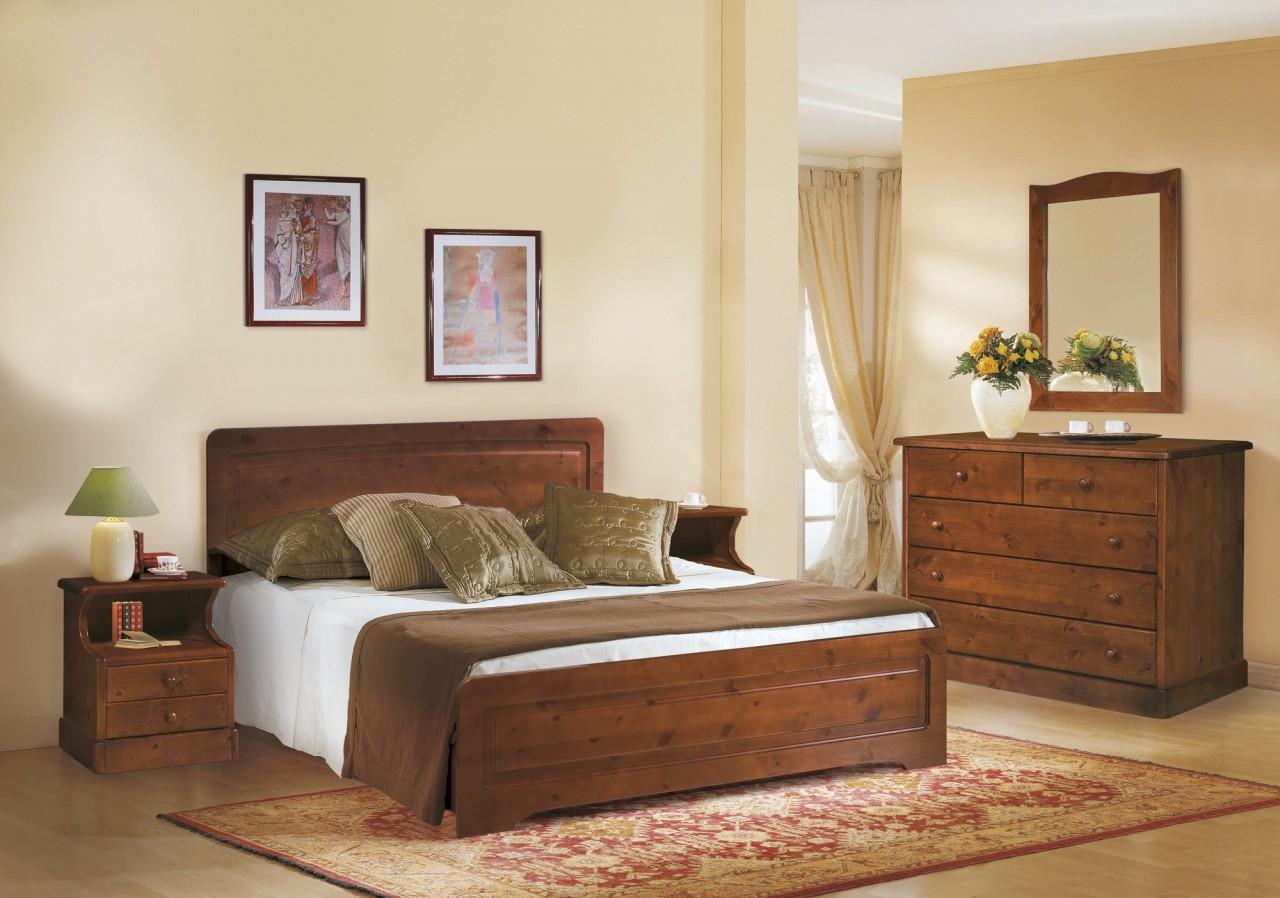 Mobili Rustici Camera Da Letto : Camere da letto in pino camera valentina arredamenti rustici
