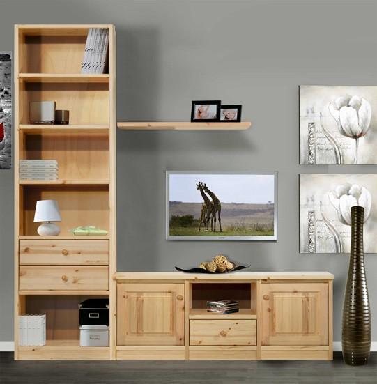 Soggiorni in pino woodday h234 arredamenti rustici for Arredamenti rustici in pino