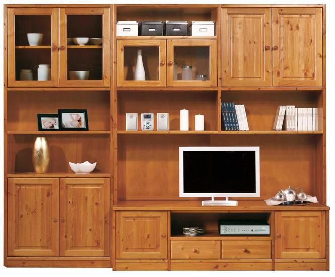 Librerie componibili rustiche libreria soggiorno porta tv for Soggiorni rustici immagini