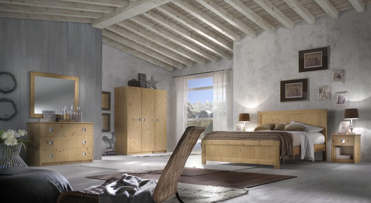 Mobili Per Camera Da Letto Milano : Camere da letto in pino camera milano arredamenti rustici