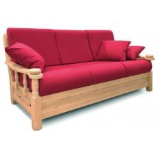 Arredamenti rustici - Divani letto rustici in legno ...