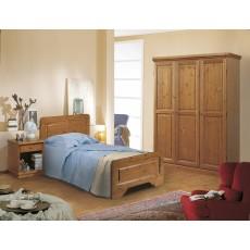 Camere da letto in pino arredamenti rustici for Arredamenti rustici in pino